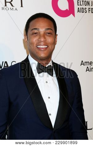 LOS ANGELES - MAR 4:  Don Lemon at the 2018 Elton John AIDS Foundation Oscar Viewing Party at the West Hollywood Park on March 4, 2018 in West Hollywood, CA