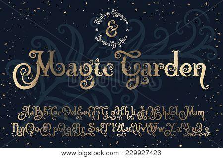Beautyfull Decorative Font Named