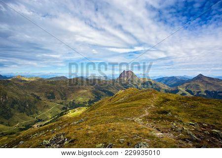 Wildkogel Panorama Path in High Tauern, Austria