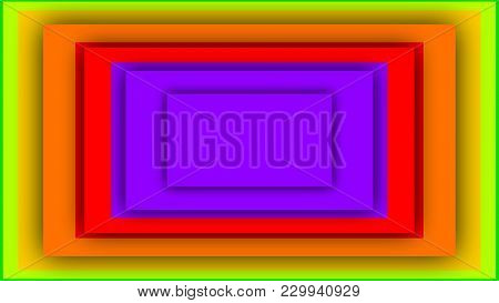 Multicolored Background From Rectangles