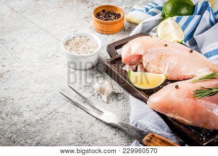 Raw Meat, Chicken Breast Filet