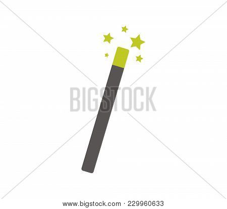 Magic Wand Icon In Vector On A White Background