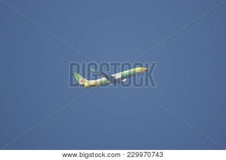 Boeing 737-800 Of Nokair Airline.