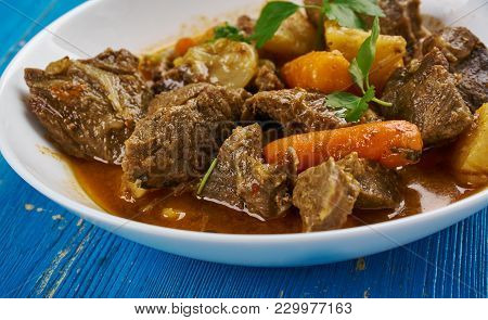 Cape Malay Lamb Curry  - Cooking From South Africa