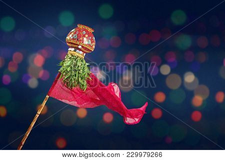 Happy Gudi Padwa Marathi New Year , Indian Festival Gudi Padwa