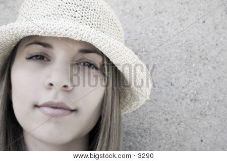 Beauty In A Hat 2