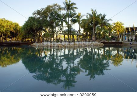 Reflective Lagoon