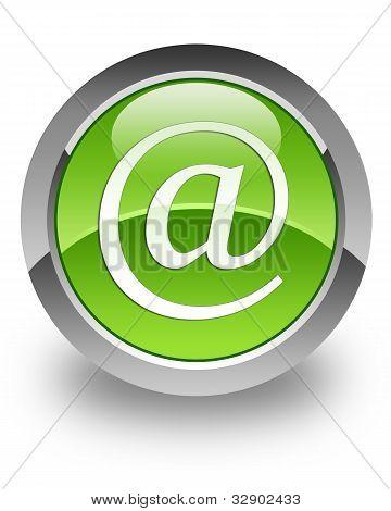 Address glossy icon