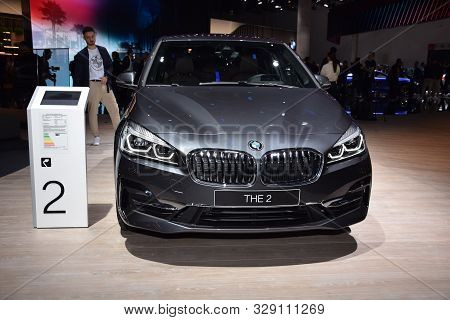 Frankfurt, Germany, September 10-2019:  Bmw The 2 Iaa 2019