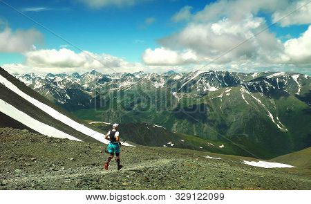 Ultra Trail Running, Sport Activities, Mountain Trails Marathon.. The Concept For Exercising, Fitnes