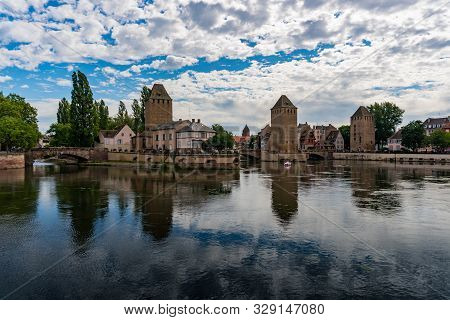 Historic Old Town And Canals Of The City Of Strassbourg