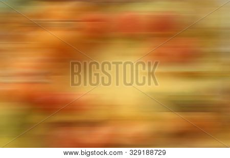 Abstract Unfocused Brown-yellow Background. Soft Transition, Watercolor Spots. The Colours Of Autumn
