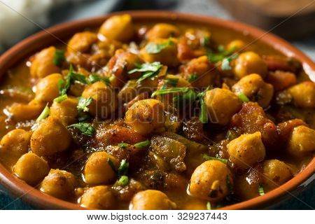 Homemade Indian Chickpea Chana Masala