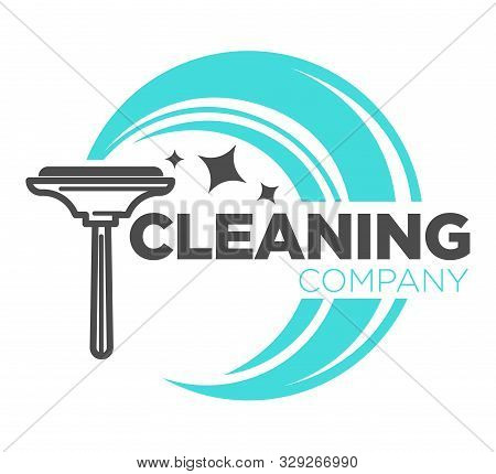Window Cleaning Tool, Clean Service Isolated Icon