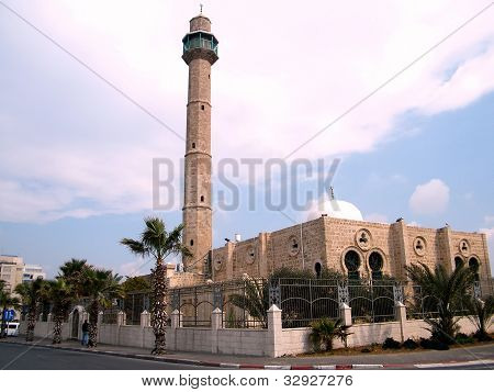Tel Aviv View To Hasan-bey Mosque 2011