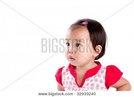 Retrato de bebé niña