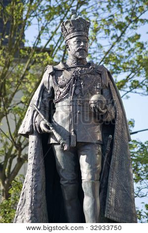 King Edward VII statue, Reading, Berkshire