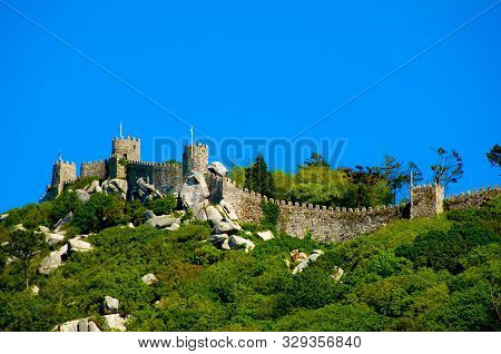 Castle Of The Moors - Sintra - Portugal