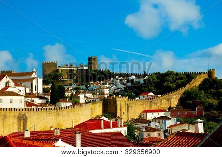 The Old Village Of Obidos - Portugal