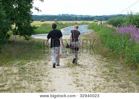 On The Way To A Picnic