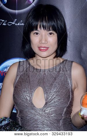 LOS ANGELES - OCT 18:  Angela Cui at the Mars Rocks! A Benefit Concert for the Mars Society at the Globe Theater on October 18, 2019 in Los Angeles, CA