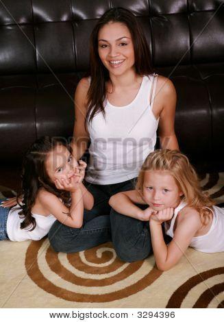 Happy Multiracial Family