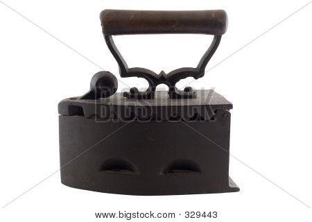 Antique Coal Laundry Iron