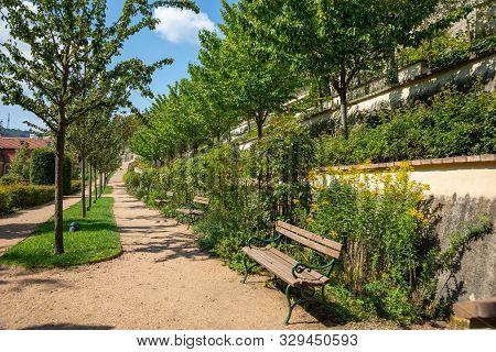 View Over Great Furstenberg Garden, Pague, Czech Republic