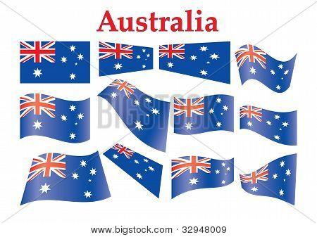 Australia Flags