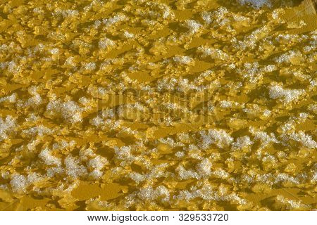 Natural winter background. Snow white texture. Background of snow texture.