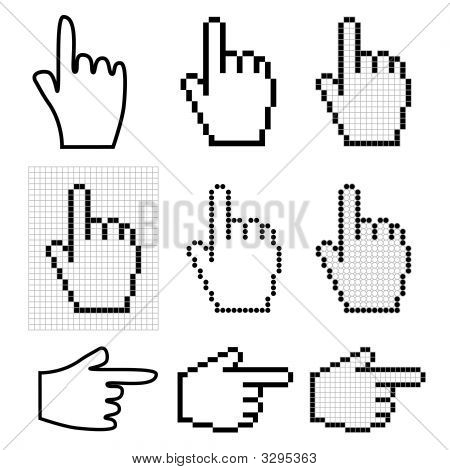Hand Mouse Cursors