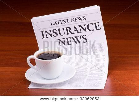 The Newspaper Latest News.with The Headline Insurance News