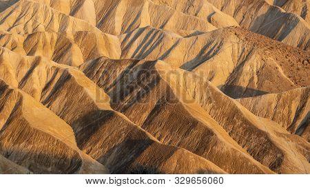Negev Desert / Israel  -  Sep 22, 2019: Desert Landscape As Seen From Sde Boker In The Negev Highlan