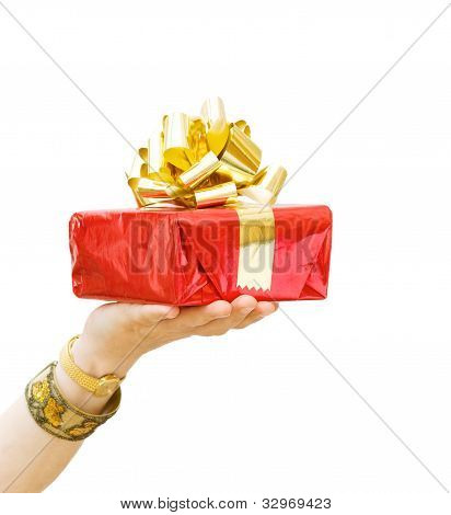 Happy Birthday - Giving A Gift