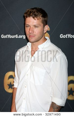 LOS ANGELES - MAY 10:  Ryan Phillippe arrives at the Launch of Got Your 6  at SAG / AFTRA Headquarters on May 10, 2012 in Los Angeles, CA