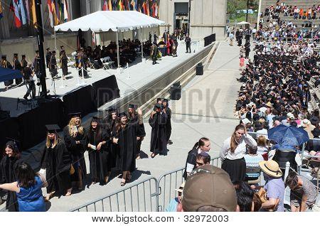 Law School Graduates Walk