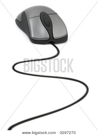 Computer Mouse And Cable