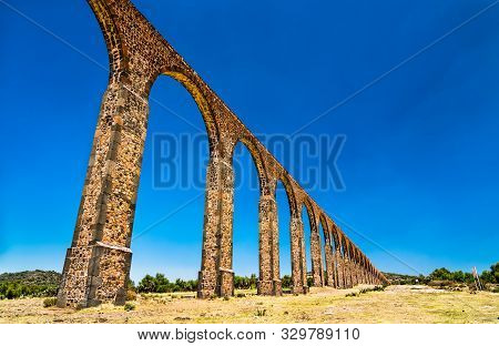 Aqueduct Of Padre Tembleque, Unesco World Heritage In Mexico