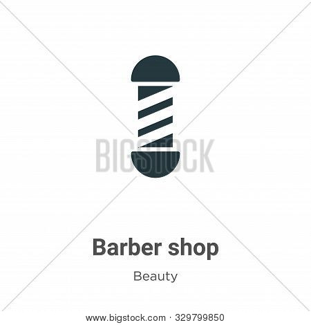 Barber shop icon isolated on white background from beauty collection. Barber shop icon trendy and mo