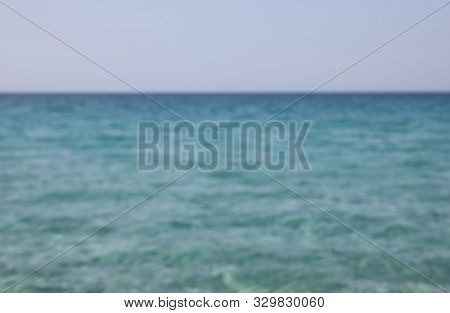 Simple Backgroud Of Water Intentionally Blurred Ideal As Backdrops Without People
