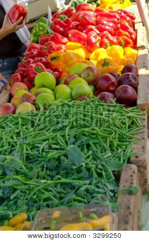 Farmers Market Fruit And Veggies