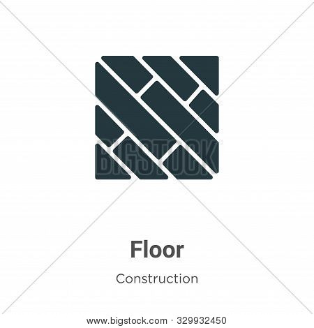 Floor icon isolated on white background from construction collection. Floor icon trendy and modern F