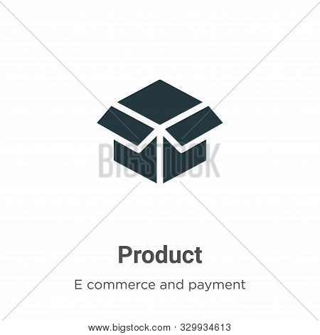 Product icon isolated on white background from e commerce and payment collection. Product icon trend