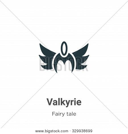 Valkyrie icon isolated on white background from fairy tale collection. Valkyrie icon trendy and mode