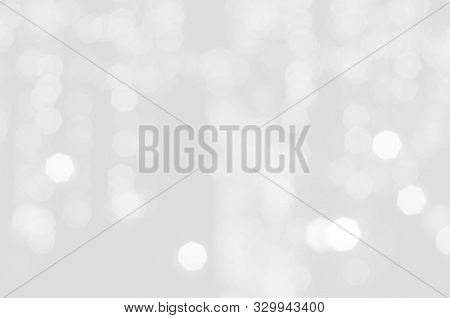 White Bokeh Background Abstract , Soft Background, Bokeh Christmas Blurred Beautiful Shiny Christmas
