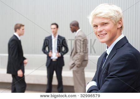 Teenage Boy In Suit