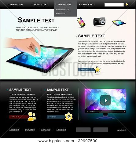 Editable Website Template 5.