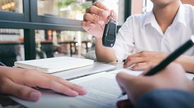 New Carowners Are Taking Keys From Male Salespeople.