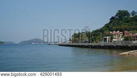 Sand beach on mui wo