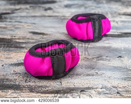 Pair Of Weights, Hand Bracelets Ideal For Fitness, Gymnastics, Jogging And Strength Training On A Gr